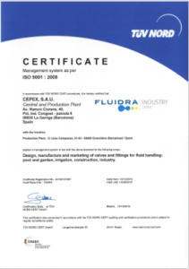 Certificados de empresa Cepex