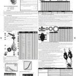 Manual Válvula de Mariposa Serie Industrial