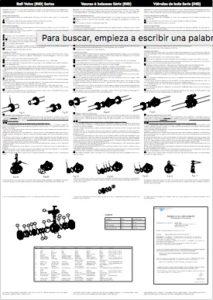 Serie di valvole a sfera manuali [IND]