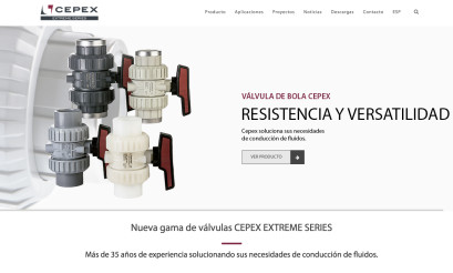 New Industrial sector web