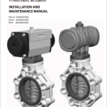 Manual Butterfly valve pneumatic actuation