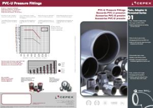 PVC pressure fittings