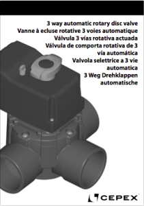Manual New Actuated Rotary Damper Valve