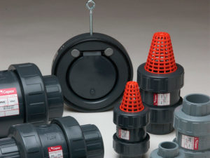 Photograph of anti-return valves