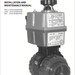 Manual Ball valve [IND] electric actuator