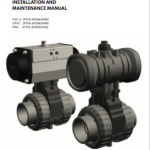 Manual Ball valve [IND] pneumatic actuation