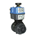 Actuated valves ball electric